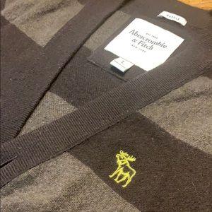 A&F 100% Cashmere Cardigan
